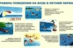 Правила поведения на воде